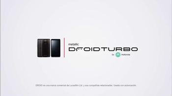 Verizon Droid Turbo Metálico de Motorola TV Spot, 'Gana-Gana-Gana' thumbnail