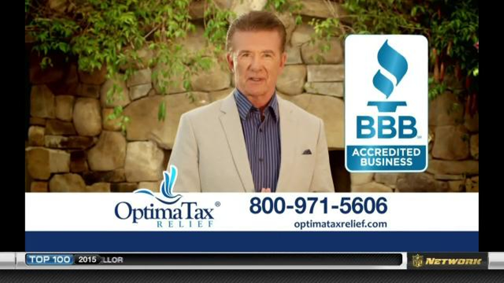 Optima Tax Relief TV Spot, 39;Resolve IRS Issues39; Featuring Alan Thicke