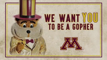 University of Minnesota TV Spot, 'Be a Gopher'
