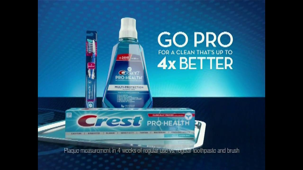 Crest Pro Health TV Spot, 'Going Pro' - Screenshot 9