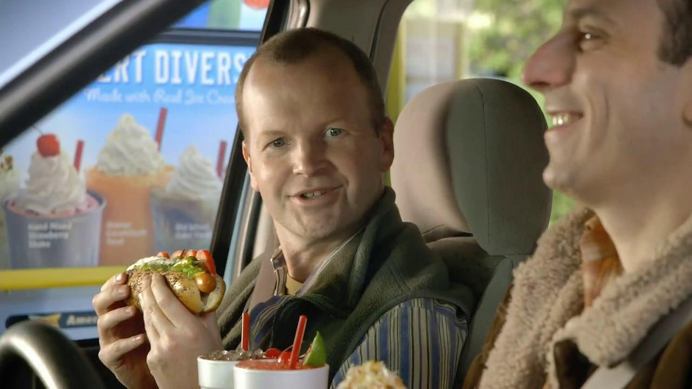 Sonic Drive-In TV Spot, '2013 Groundhog Day Hot Dogs' - Screenshot 3
