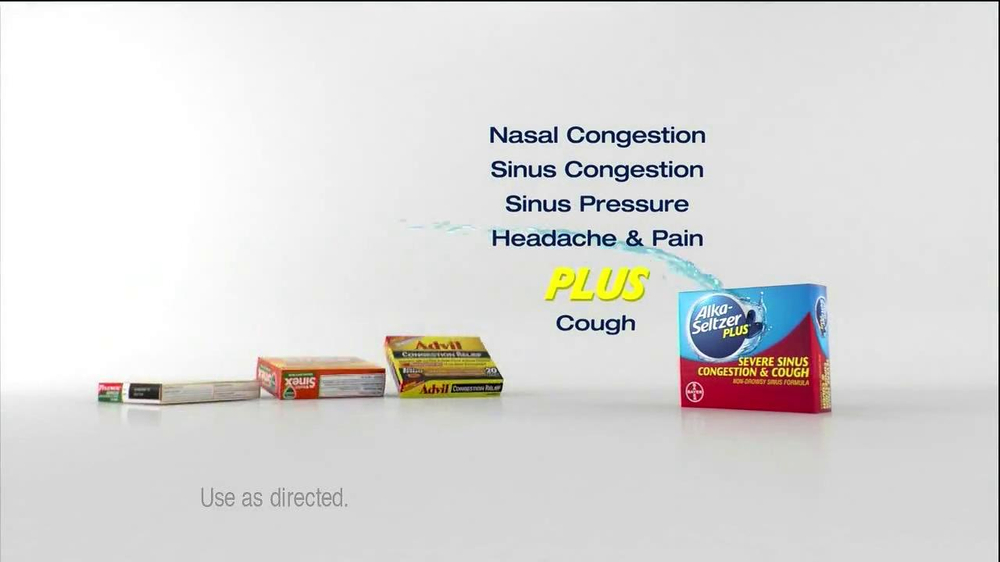 Alka-Seltzer Plus Severe Congestion and Cough TV Spot, 'Golf Cough' - Screenshot 5