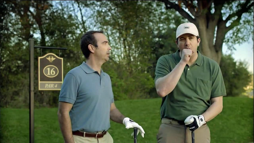 Alka-Seltzer Plus Severe Congestion and Cough TV Spot, 'Golf Cough' - Screenshot 6