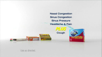 Alka-Seltzer Plus Severe Congestion and Cough TV Spot, 'Golf Cough' - Thumbnail 5