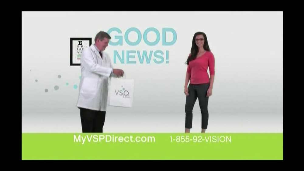 VSP Direct TV Spot, 'Benefits' - Screenshot 2