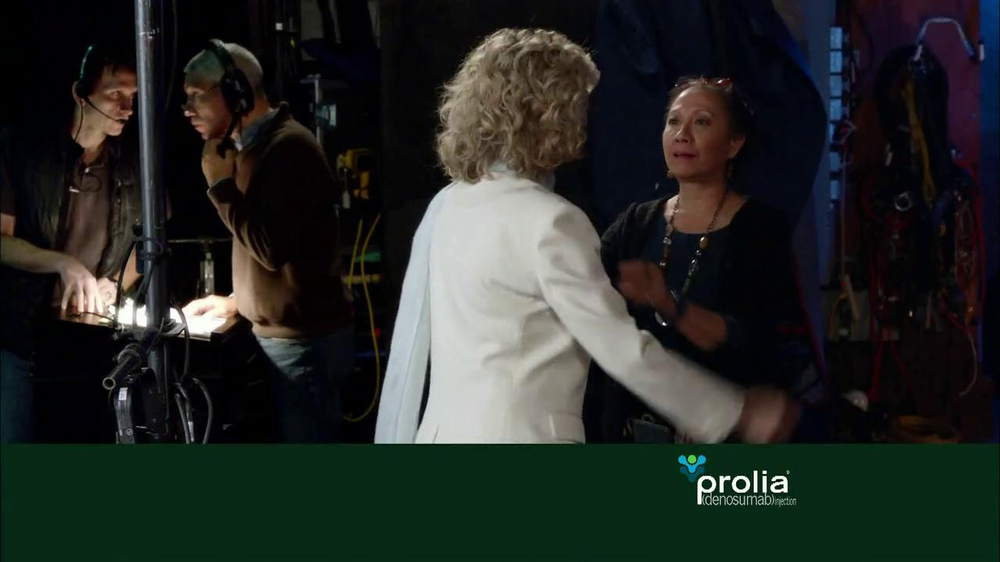 Prolia TV Spot Featuring Blythe Danner - Screenshot 1