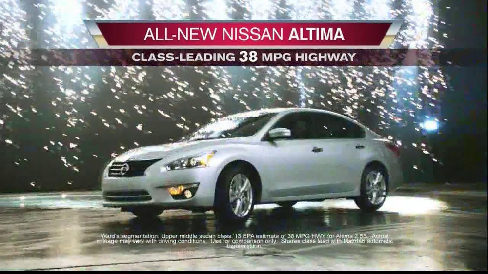 Nissan Now Sales Event TV Spot, 'Altima' Song by The Alan Parsons Project - Screenshot 3