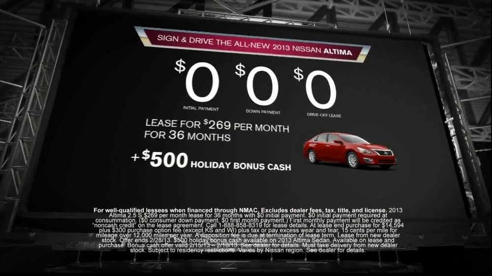 Nissan Now Sales Event TV Spot, 'Altima' Song by The Alan Parsons Project - Screenshot 6