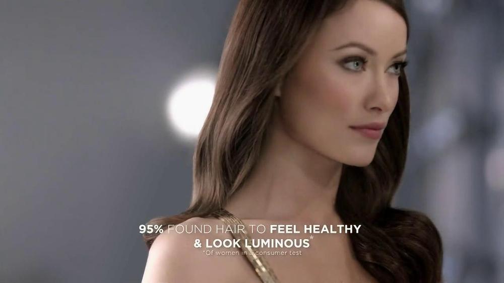 Revlon Luxurious Colorsilk Buttercream TV Spot Featuring Olivia Wilde - Screenshot 8