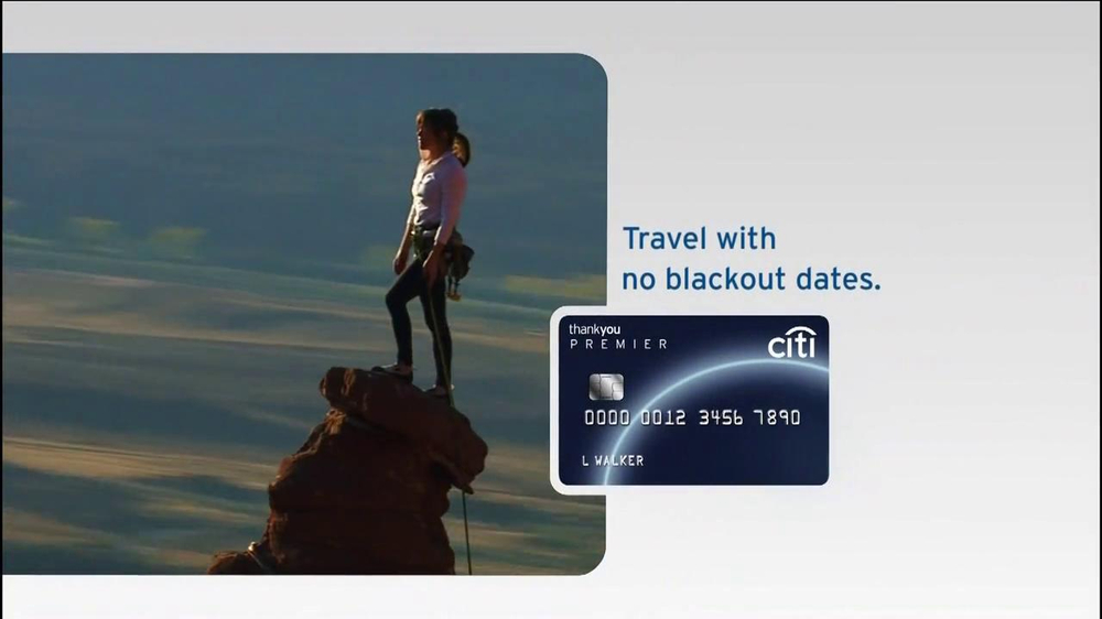 Thank You Citi Card Commercial