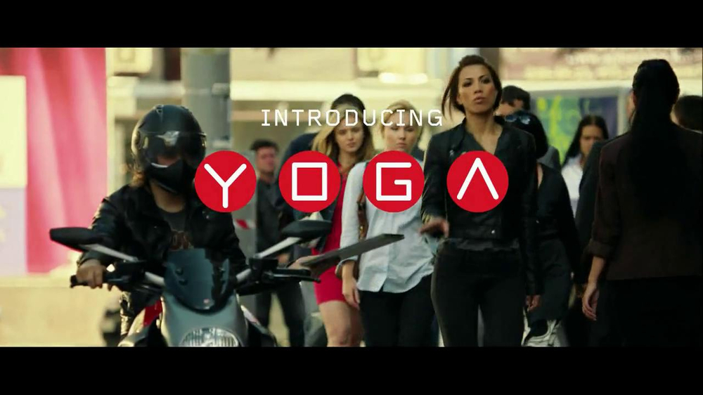 Lenovo Yoga TV Spot, 'Motorcycle Escape' - Screenshot 9