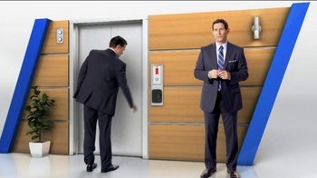 Tyco Integrated Security TV Spot, 'Elevator' Featuring Steve Young