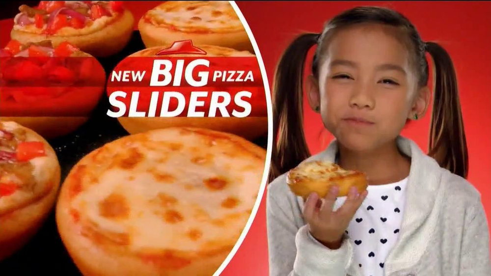 Pizza Hut Sliders TV Spot - Screenshot 2