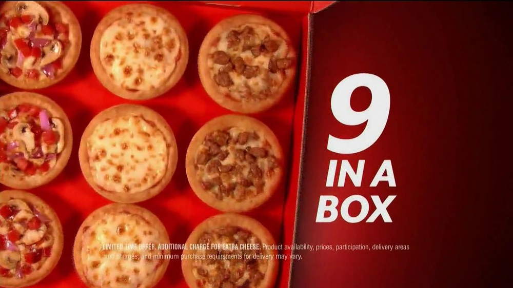 Pizza Hut Sliders TV Spot - Screenshot 7