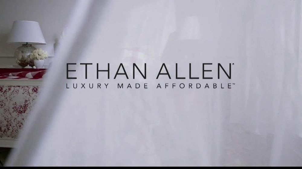 Ethan Allen TV Spot, 'American Colors' - Screenshot 1