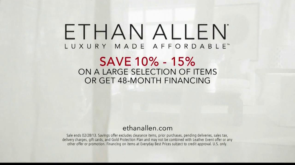 Ethan Allen TV Spot, 'American Colors' - Screenshot 10