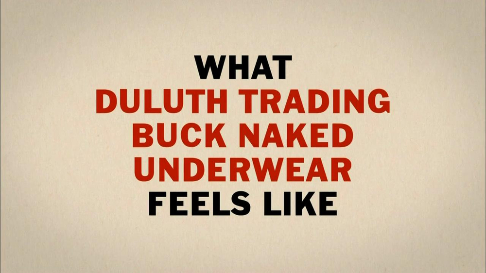 Duluth Trading 2013 Super Bowl TV Spot, 'Buck Naked'  - Screenshot 3