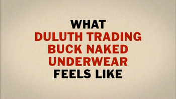 Duluth Trading 2013 Super Bowl TV Spot, 'Buck Naked'  - Thumbnail 3