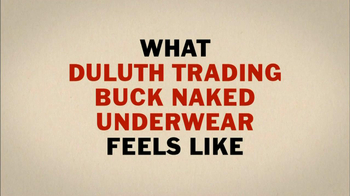 Duluth Trading 2013 Super Bowl TV Spot, 'Buck Naked'  - Thumbnail 4