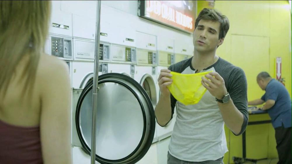 Speed Stick 2013 Super Bowl TV Spot, 'Unattended Laundry' - Screenshot 7