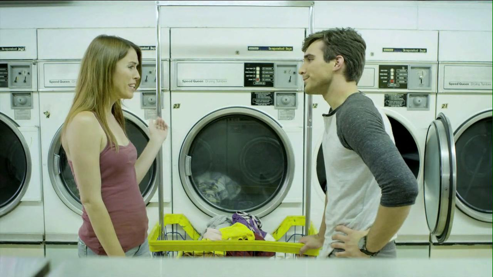 Speed Stick 2013 Super Bowl TV Spot, 'Unattended Laundry' - Screenshot 9