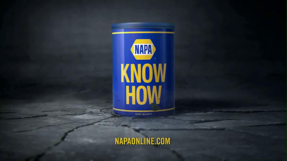 NAPA 2013 Super Bowl TV Spot, 'Know How' Feat. Patrick Warburton - Screenshot 10