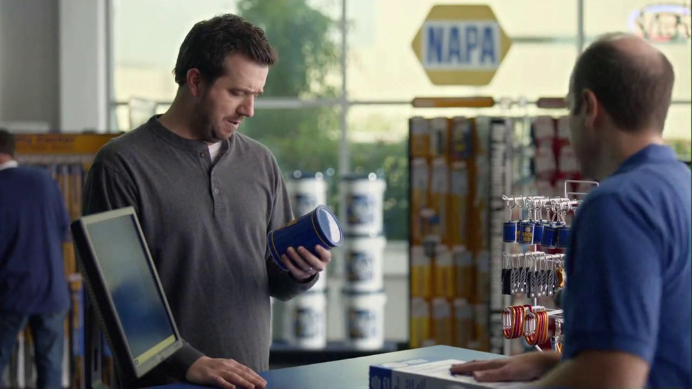 NAPA 2013 Super Bowl TV Spot, 'Know How' Feat. Patrick Warburton - Screenshot 2