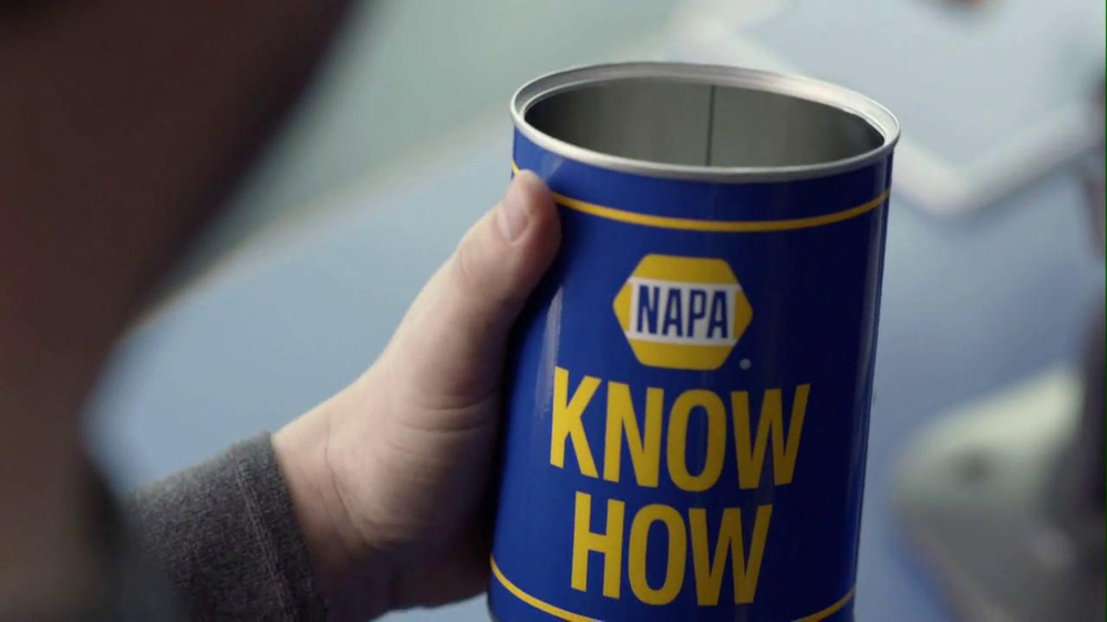 NAPA 2013 Super Bowl TV Spot, 'Know How' Feat. Patrick Warburton - Screenshot 4