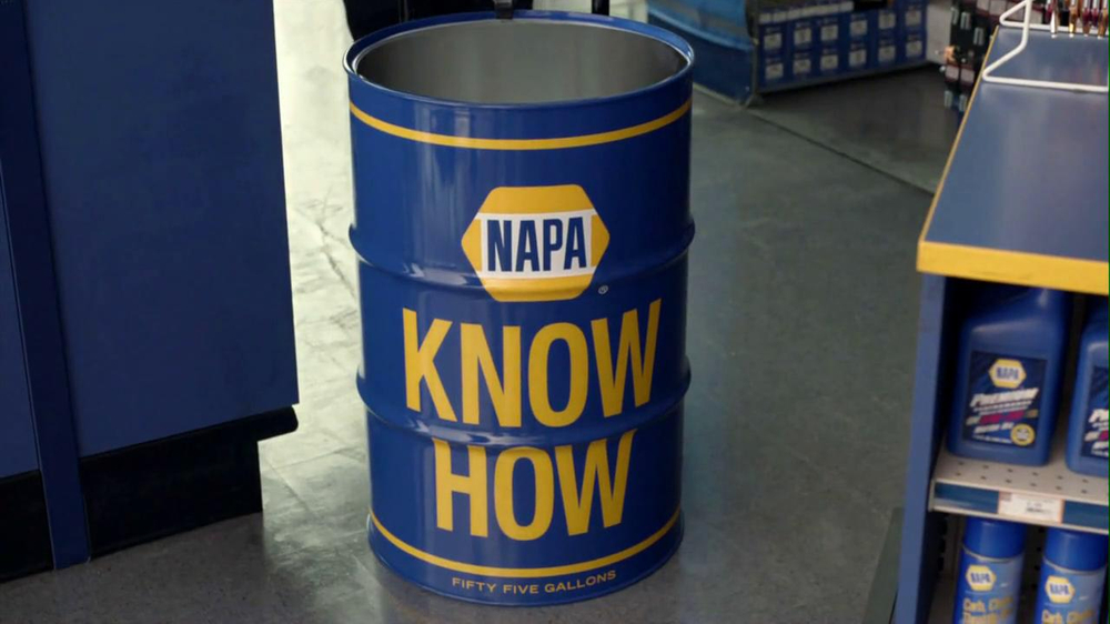 NAPA 2013 Super Bowl TV Spot, 'Know How' Feat. Patrick Warburton - Screenshot 9