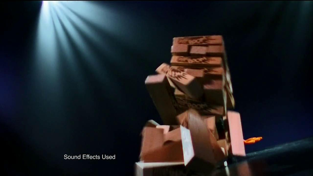 Jenga Boom TV Spot, 'Whole New Way to Play' - Screenshot 7