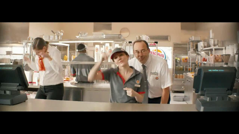 Burger King Whopper Jr. TV Spot, 'Dancing' - Screenshot 3