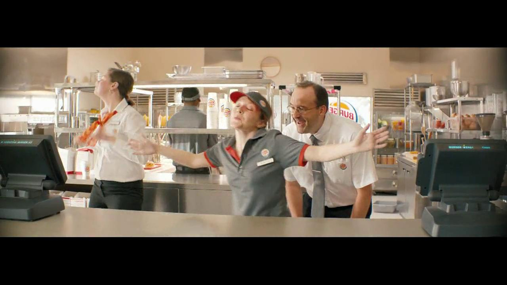 Burger King Whopper Jr. TV Spot, 'Dancing' - Screenshot 4