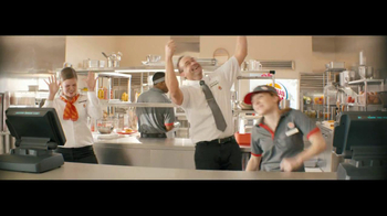 Burger King Whopper Jr. TV Spot, 'Dancing' - Thumbnail 8