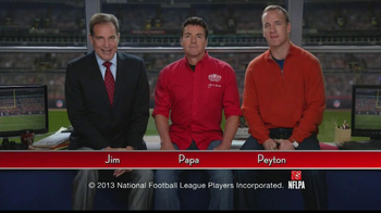 Papa John's TV Spot, 'Heads or Tails' Featuring Peyton Manning