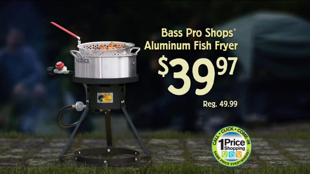 Bass pro shops gear up for the season sale tv commercial for Bass pro fishing sale