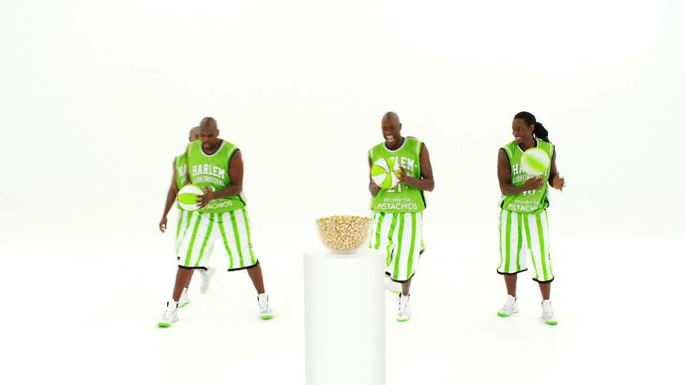 Wonderful Pistachios TV Spot Featuring The Harlem Globe Trotters - Screenshot 3