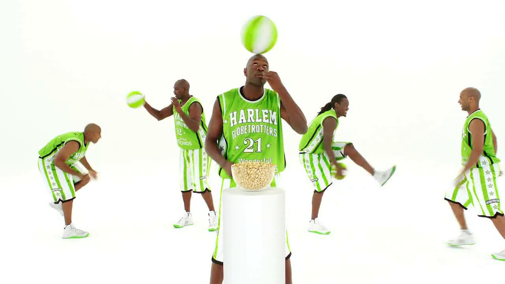 Wonderful Pistachios TV Spot Featuring The Harlem Globe Trotters - Screenshot 7