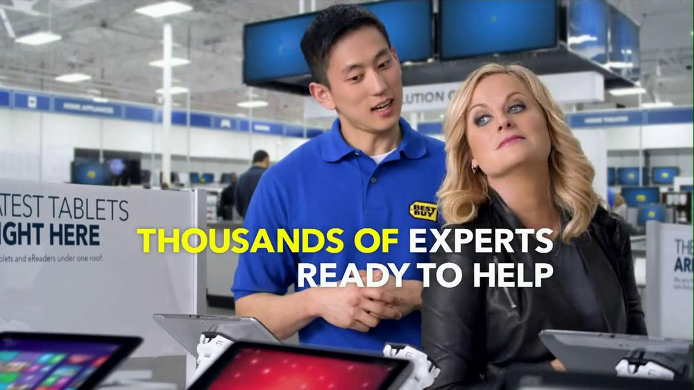 Best Buy 2013 Super Bowl TV Spot, 'Asking Amy' Featuring Amy Poehler - Screenshot 10