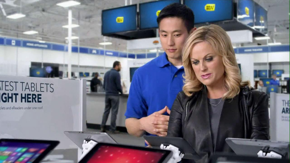 Best Buy 2013 Super Bowl TV Spot, 'Asking Amy' Featuring Amy Poehler - Screenshot 8