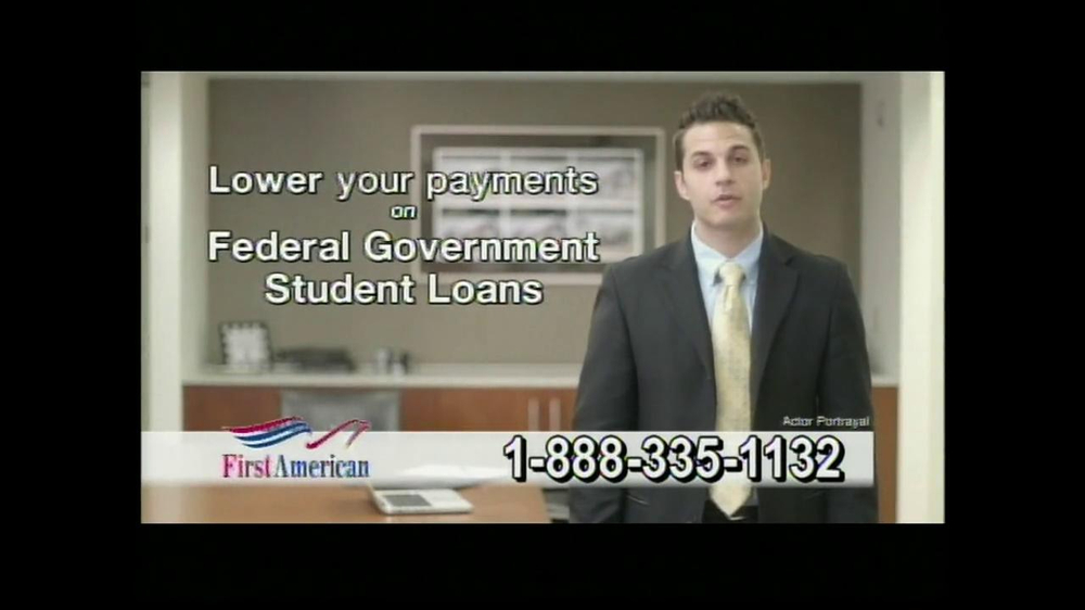 First American Loans Student Aid TV Spot - Screenshot 3