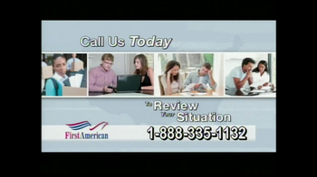 First American Loans Student Aid TV Spot - Thumbnail 4