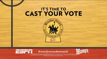 Wendy's TV Spot, 'Wooden Awards' Featuring Jay Bilas - Thumbnail 7