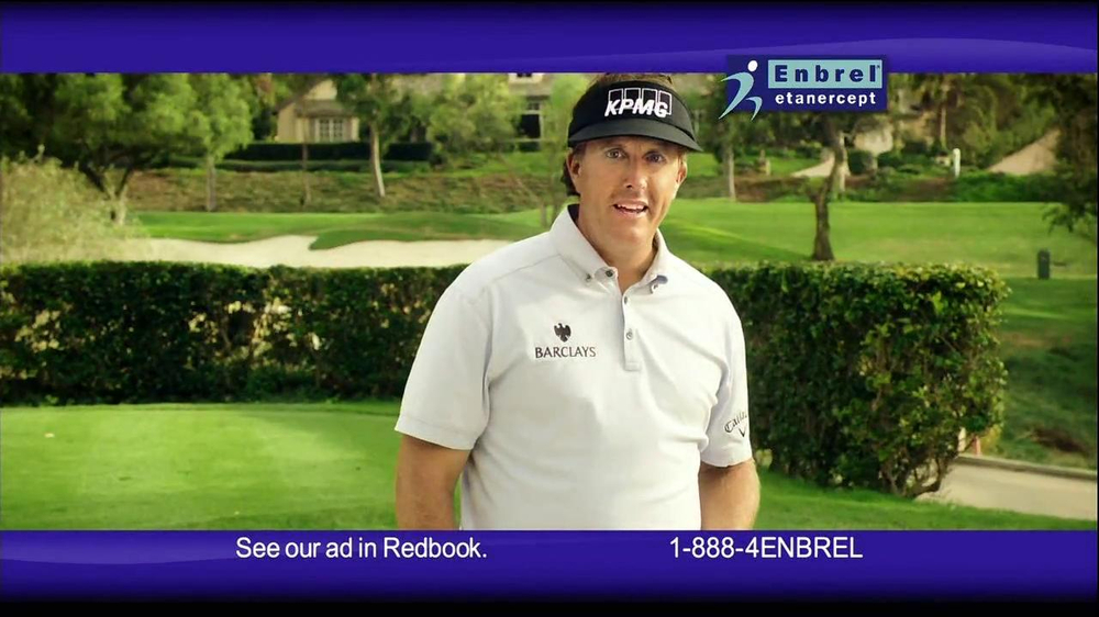 Enbrel TV Spot, 'Little Things' Featuring Phil Mickelson - Screenshot 9