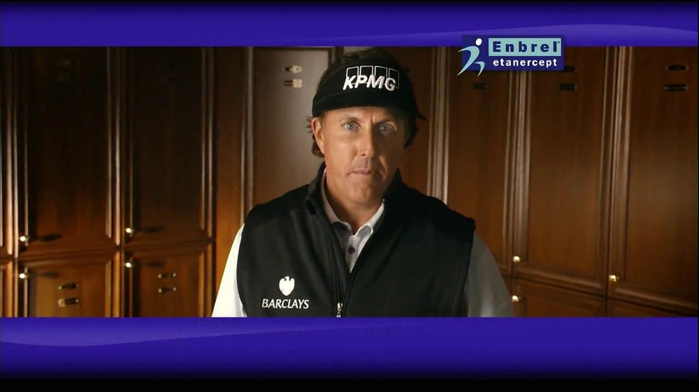 Enbrel TV Spot, 'Little Things' Featuring Phil Mickelson - Screenshot 2