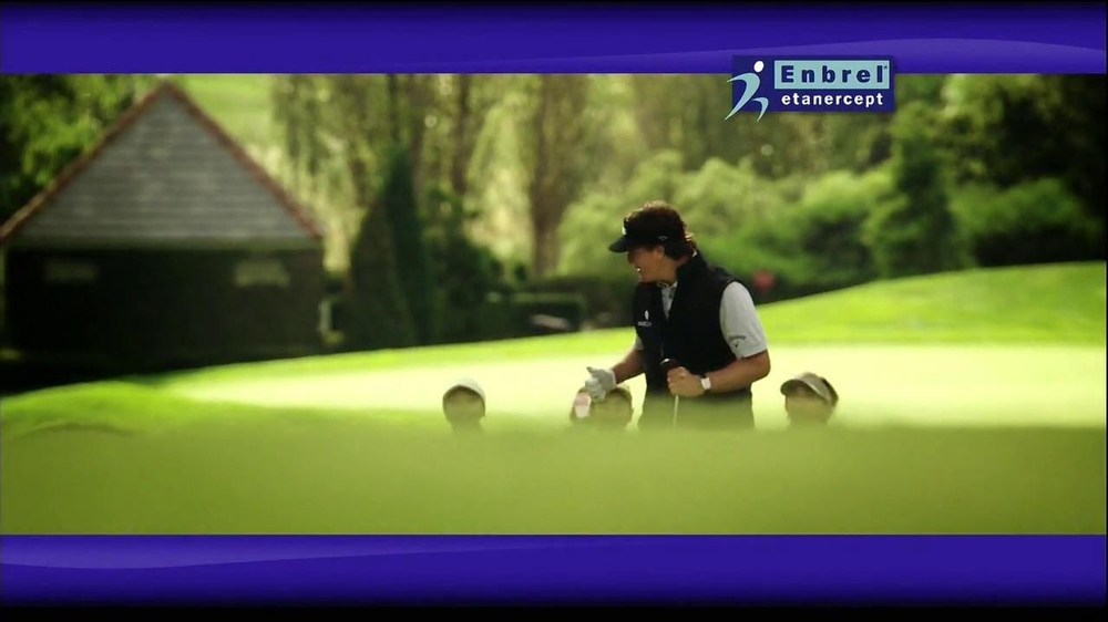 Enbrel TV Spot, 'Little Things' Featuring Phil Mickelson - Screenshot 4