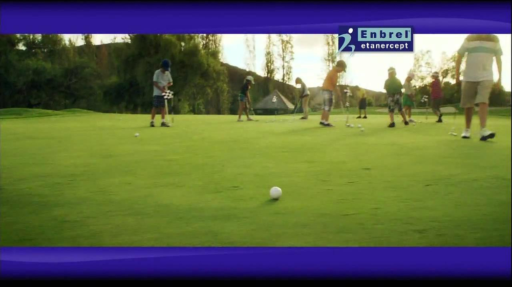 Enbrel TV Spot, 'Little Things' Featuring Phil Mickelson - Screenshot 5