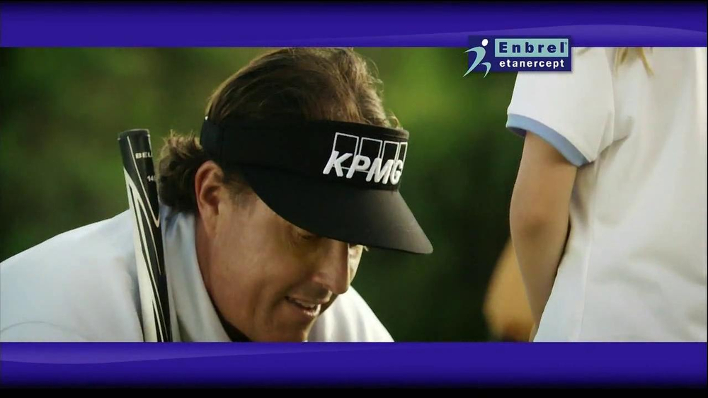 Enbrel TV Spot, 'Little Things' Featuring Phil Mickelson - Screenshot 6