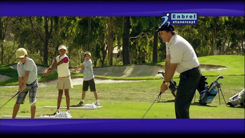 Enbrel TV Spot, 'Little Things' Featuring Phil Mickelson - Screenshot 7