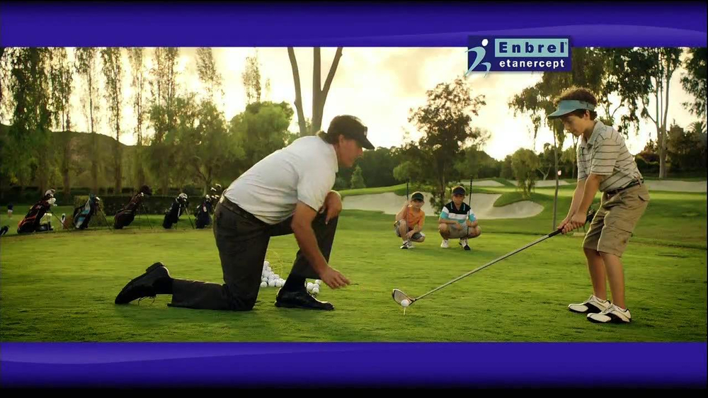 Enbrel TV Spot, 'Little Things' Featuring Phil Mickelson - Screenshot 8