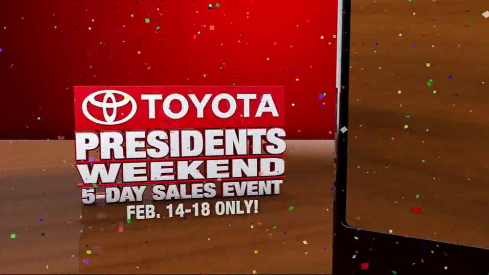 Toyota President Weekend Sales Event TV Spot  - Screenshot 8